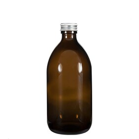 500ml Glass Bottle with Wadded Aluminium Cap