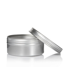 150ml Aluminium Pot with Screw Lid - Bulk Savings